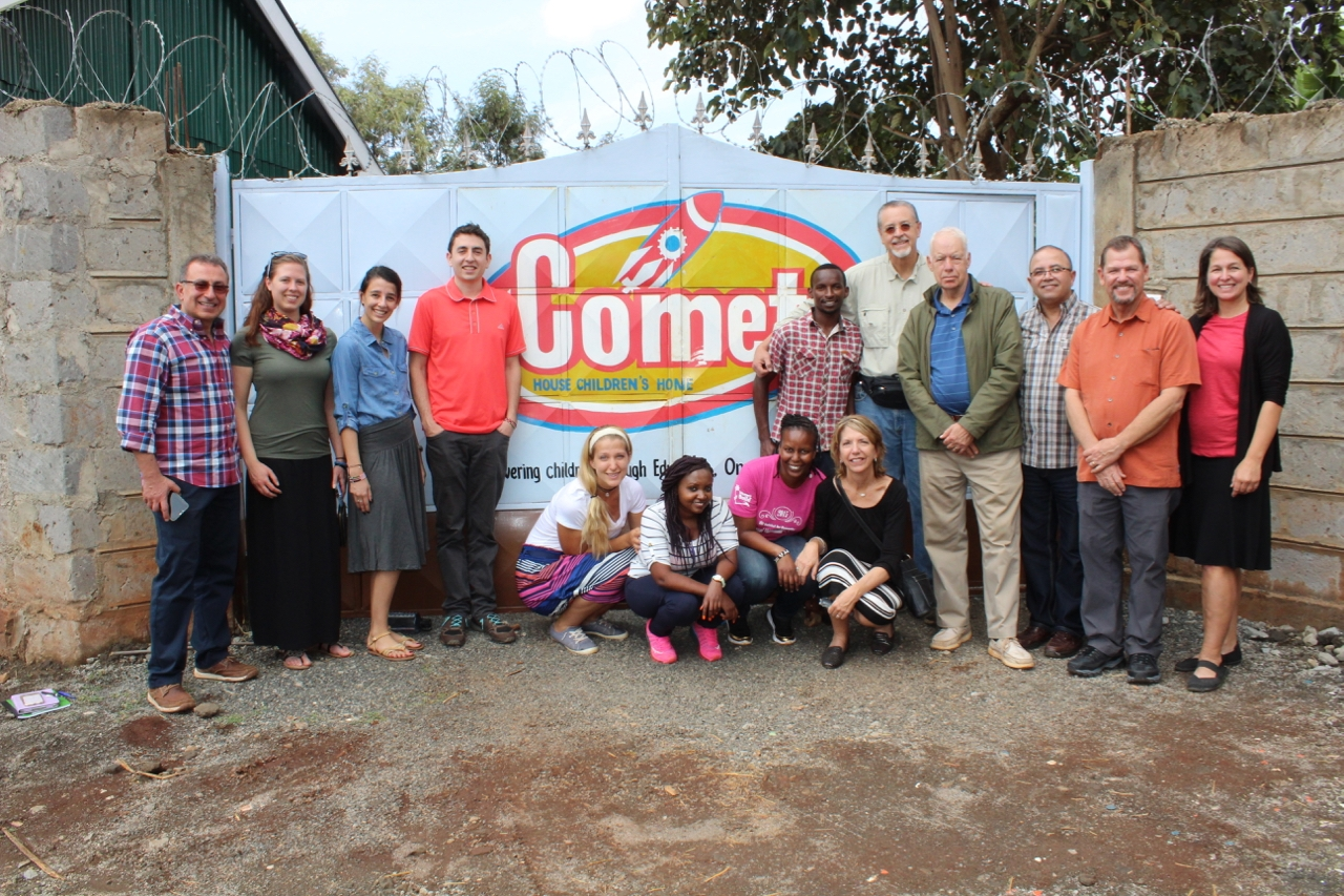 We officially launched in Kenya, partnering with Comet House Ministries to offer poor women microloans. We expect a second partner site there to launch by March.
