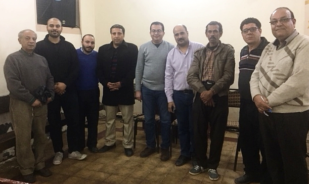Last month we met with church leaders in the small town of Manfalot, Egypt, to begin offering our microloan program there.