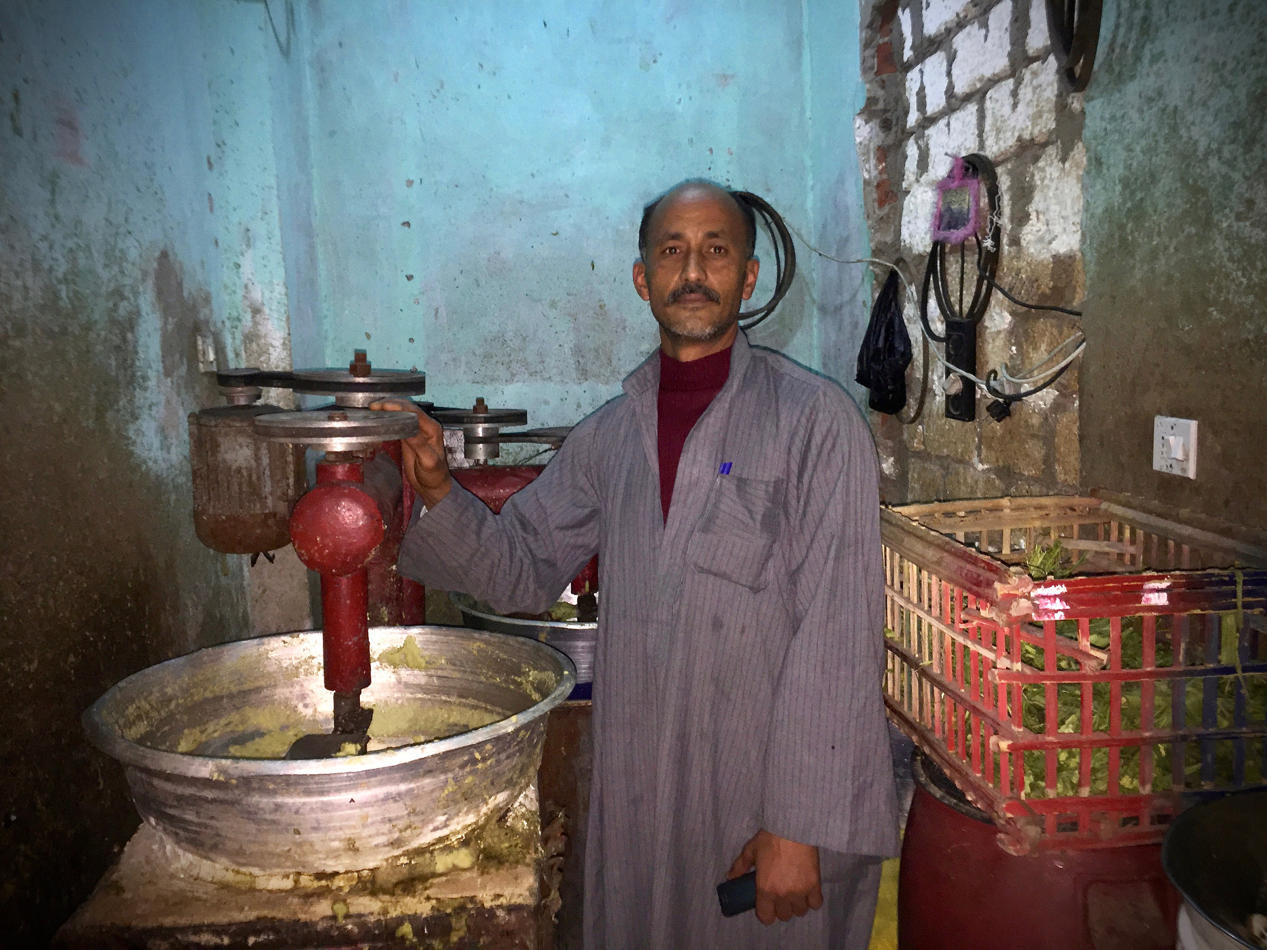 Mohammed used a second loan to buy an industrial mixer to expand his business.