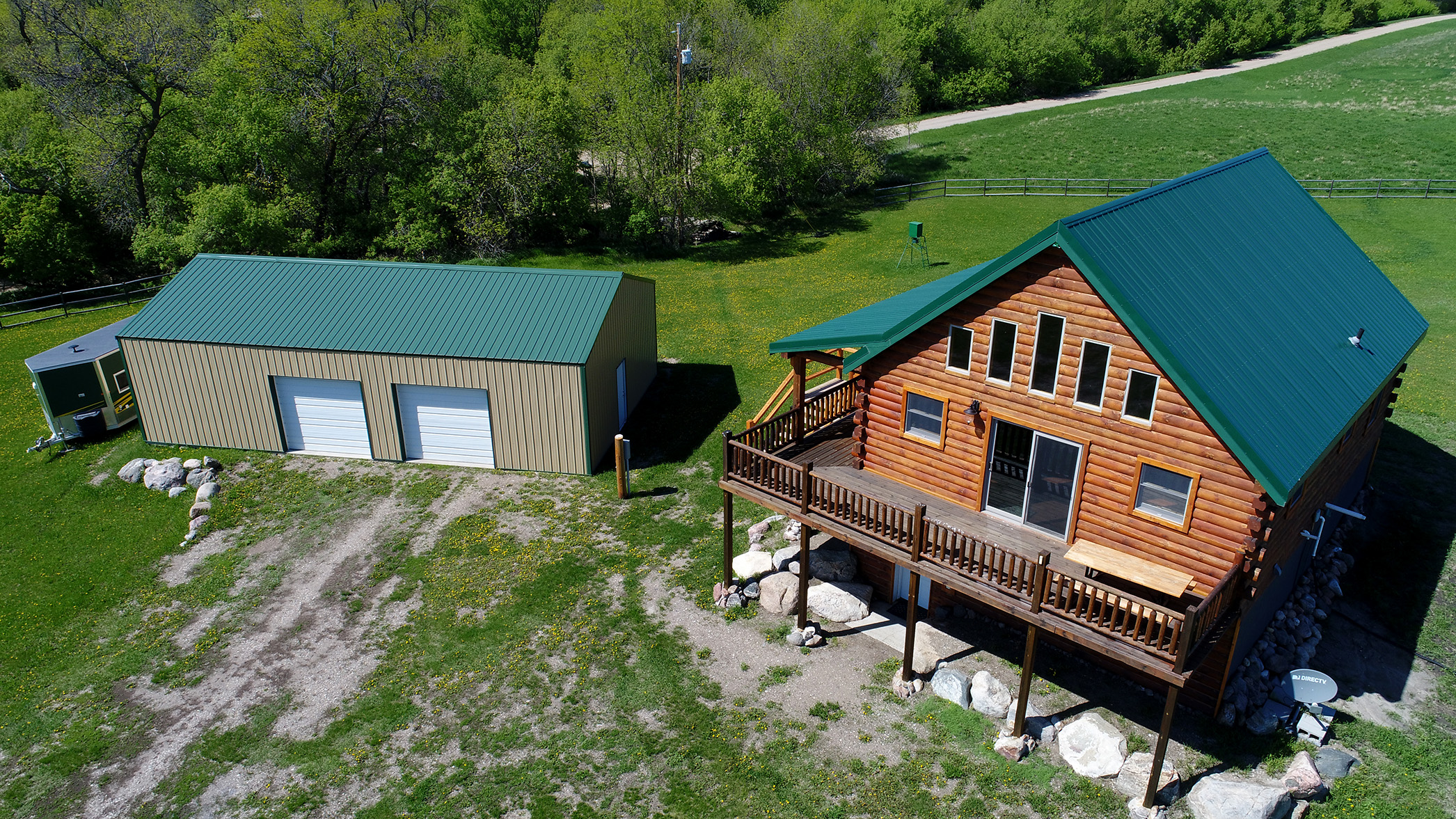 Give your property an elevated view with drone imagery.