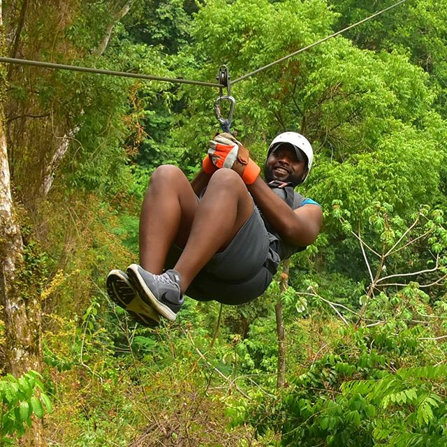 Just hanging out in the Jungle and what not... #CostaRica #JacoBeach #MoeOnTheMove #ZipLining