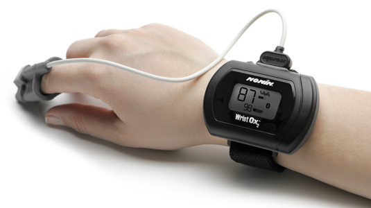 The WristOx2™, Model 3150, Pulse Oxymeter
