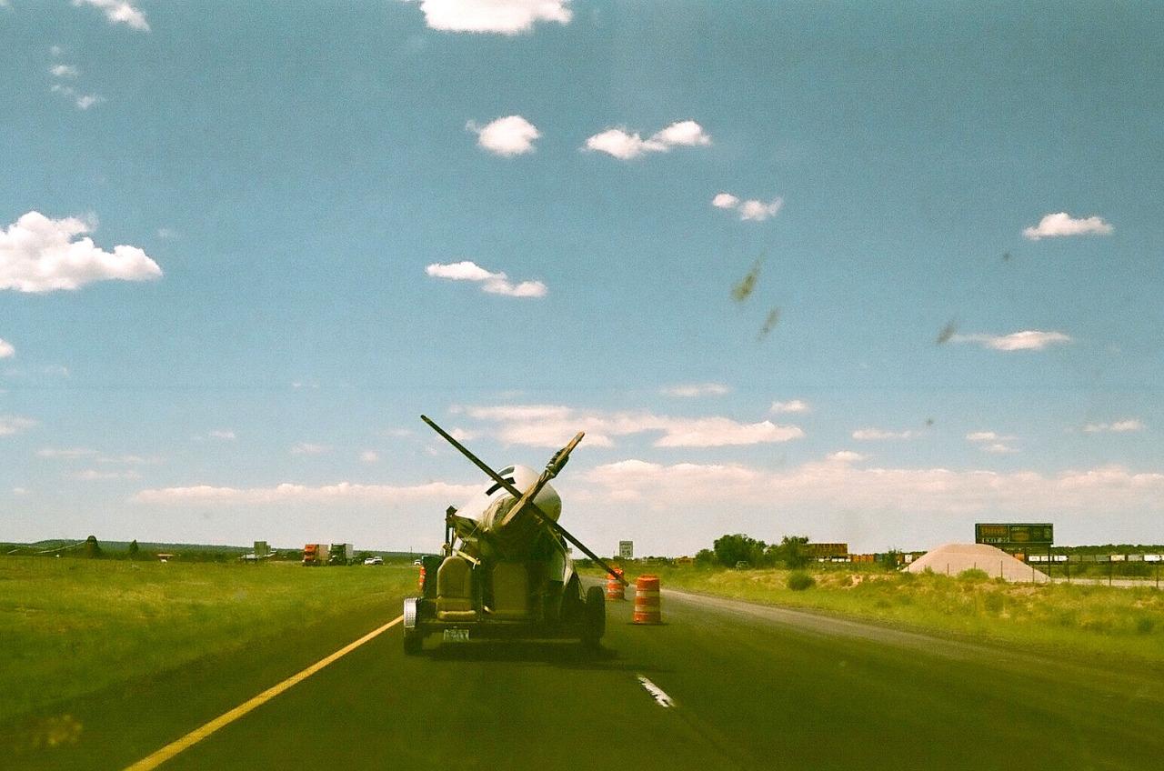 Glider Heaven #3 – Highway 40, AZ. 2014