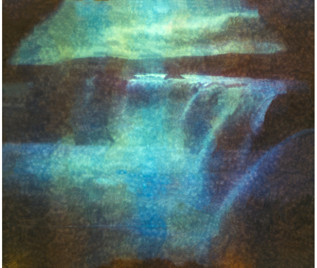 Paul Hoi Group Study A Drop Of Dye Into Water Psychedelia Expired Polaroids from Iceland 5