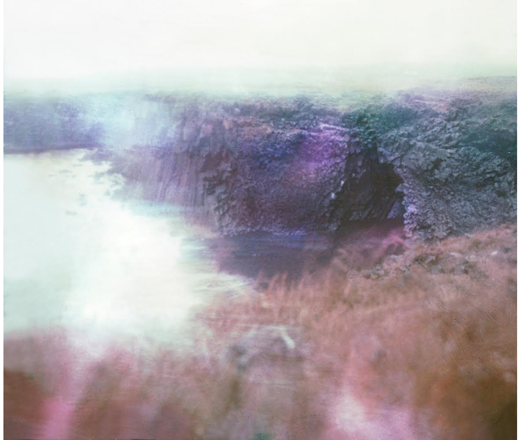 Paul Hoi Group Study A Drop Of Dye Into Water Psychedelia Expired Polaroids from Iceland 11