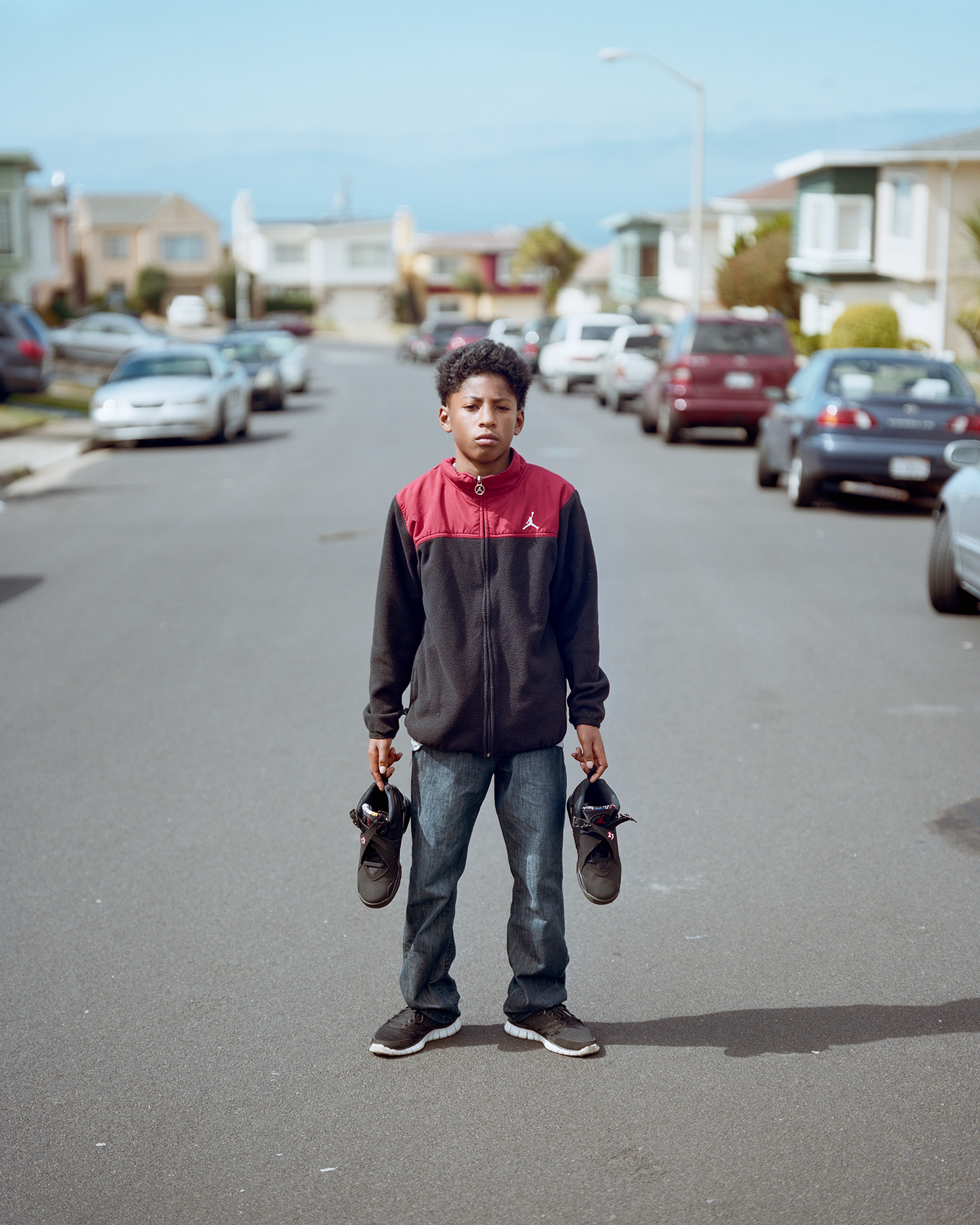 Boy w/ J's, Daly City, CA 2014