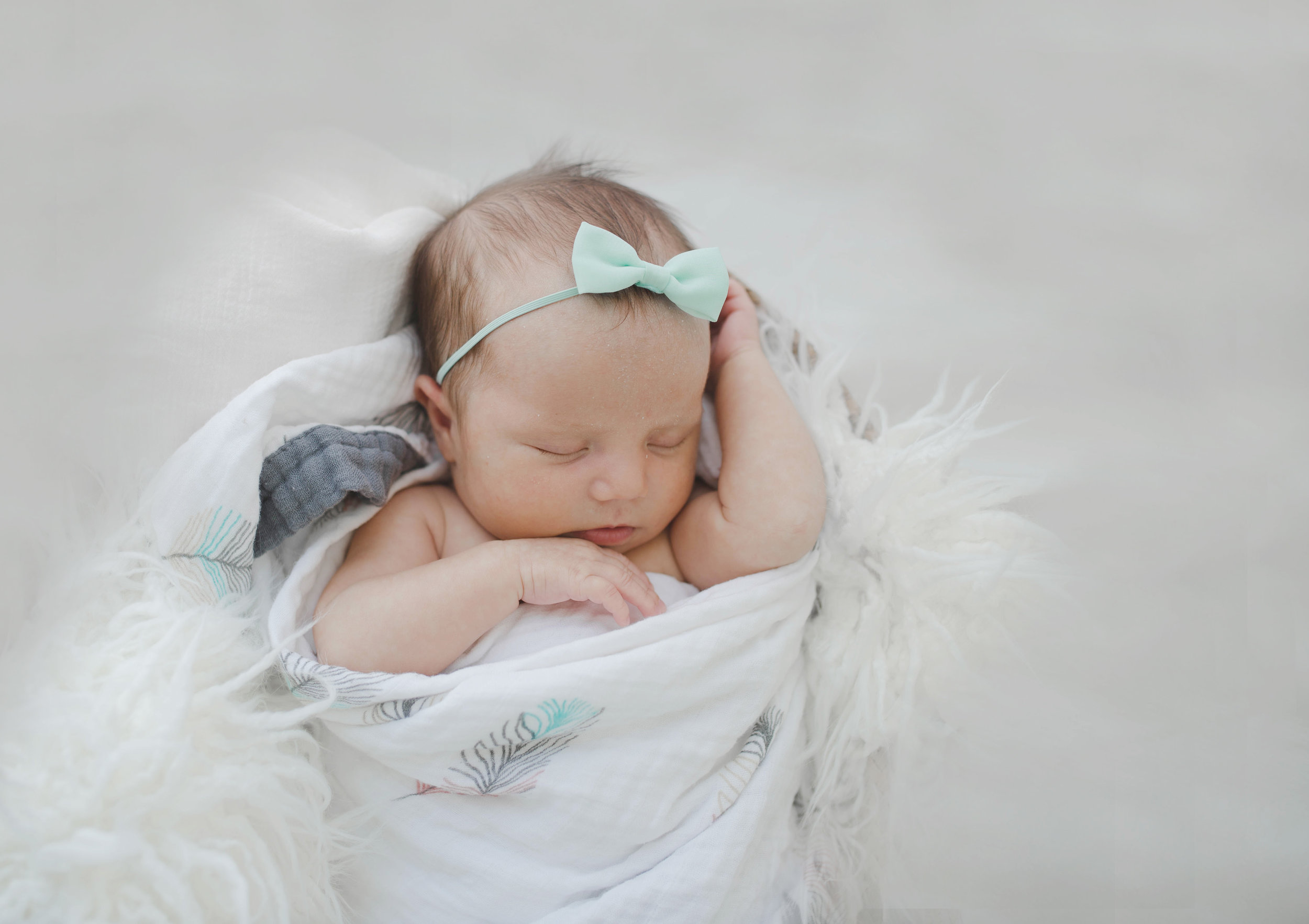 Newborn Solo Session - In this session, only the newborn is photographed.Includes 15 Digital Images. Session starts at $300
