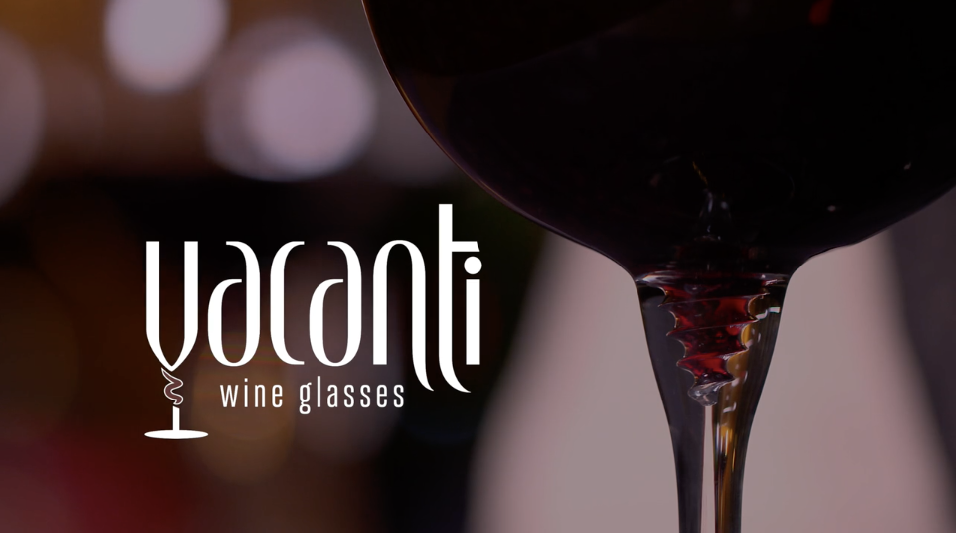 Vacanti Wine Glasses | Product & Kickstarter Videos