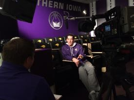 Interview with Coach Ben Jacobson at UNI