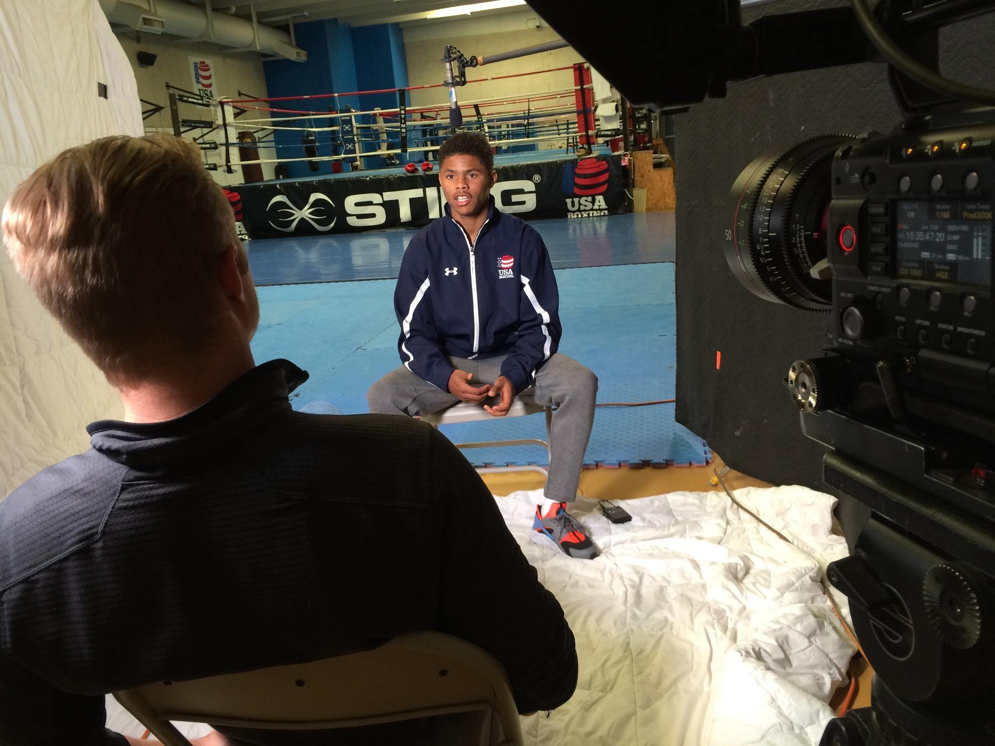 Interview with Shakur Stevenson