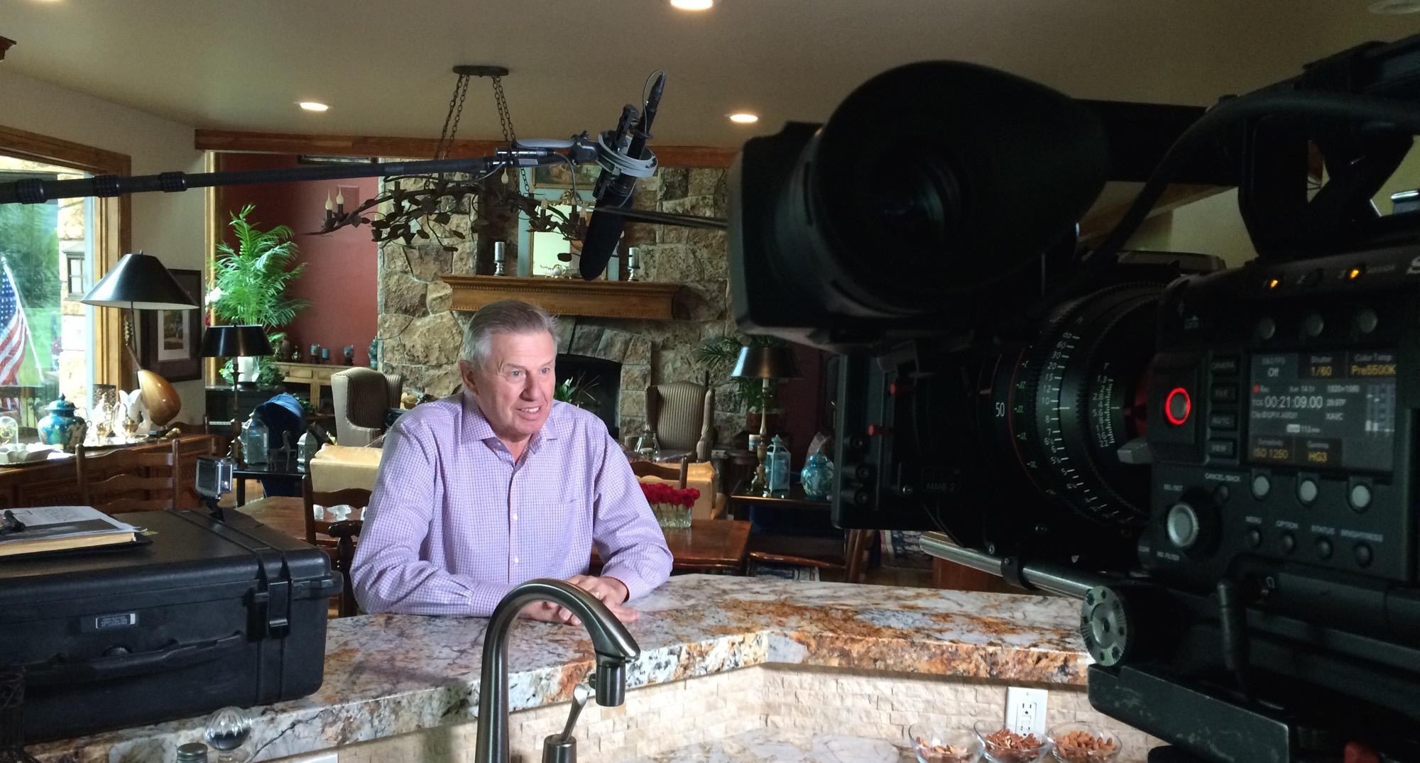Interviewing Peter Oosterhuis