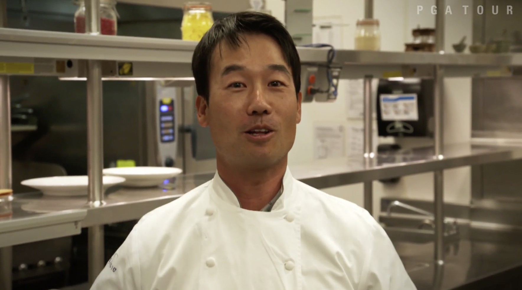 Sushi with Kevin Na