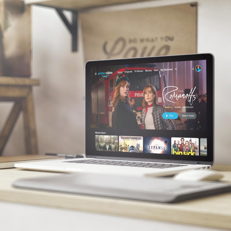 Amazon Prime Video Redesign