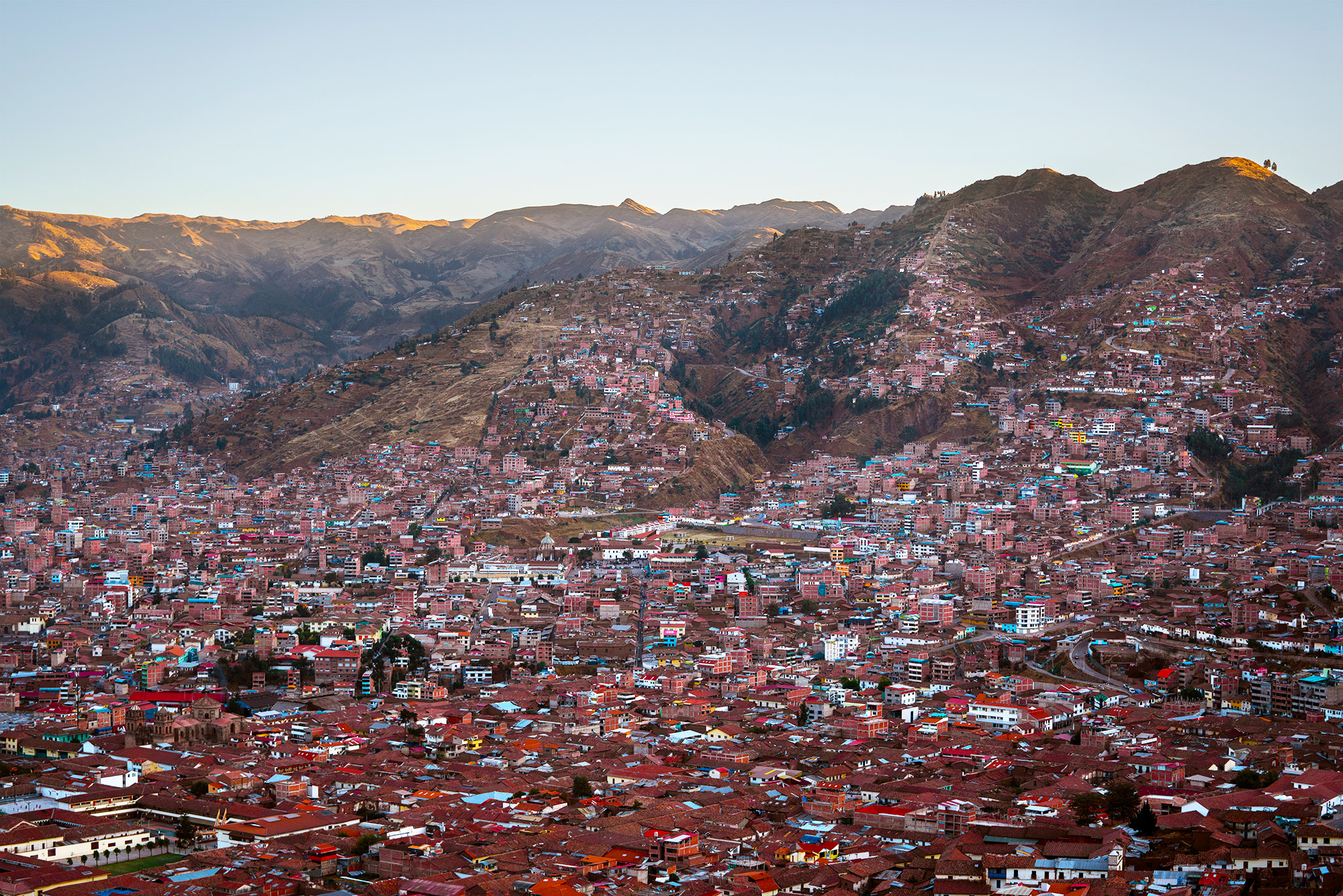 Cusco view from Sacsayhuamán © Autumn Schrock
