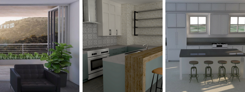 SketchUp for Interior Designers Rendering