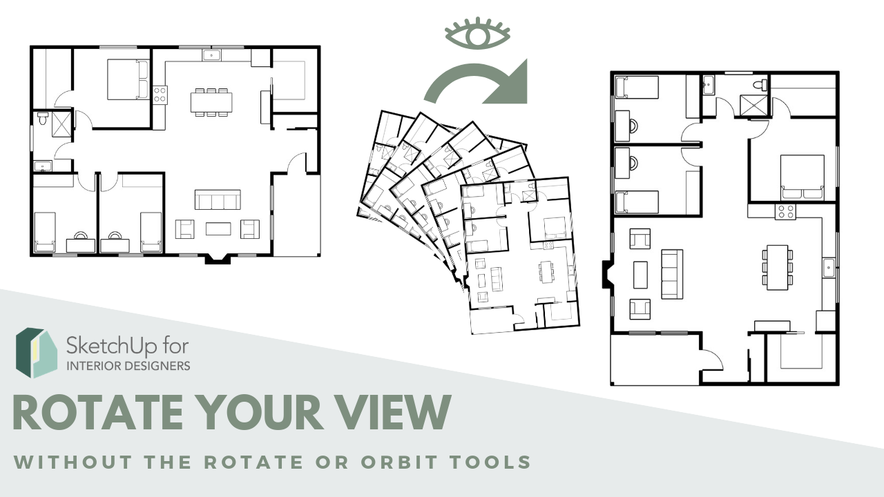 Rotate your SketchUp VIew