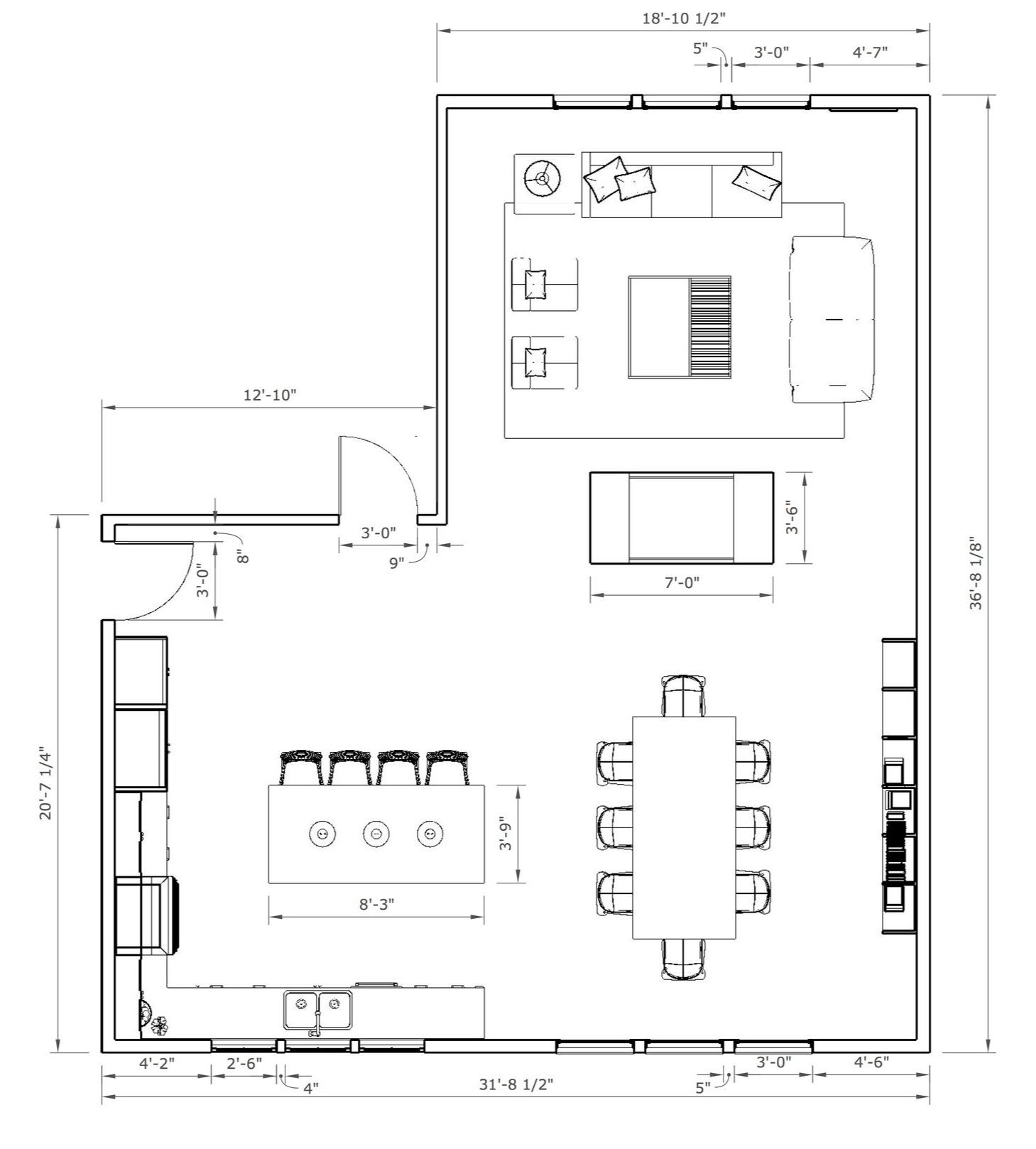 2D Floor Plans - Although SketchUp is primarily a 3D modeling tool, starting with a 2D floor plan is part of nearly every interior designers workflow. SketchUp gives you the flexibility to think conceptually and the precision to design accurately.Ready to start drawing organized floor plans but need some help? Start here.