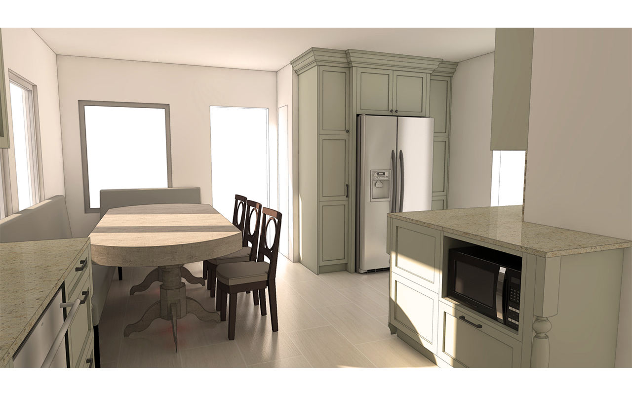 Photorealistic Renderings - Further customize the presentation of your SketchUp drawings by offering photorealistic renderings. This will further help your client visualize the space. Create beautiful renderings here.