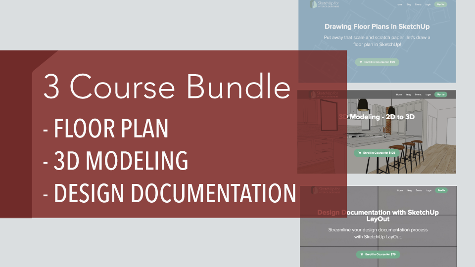 Want to do it all? - Check out the course bundling offers here.