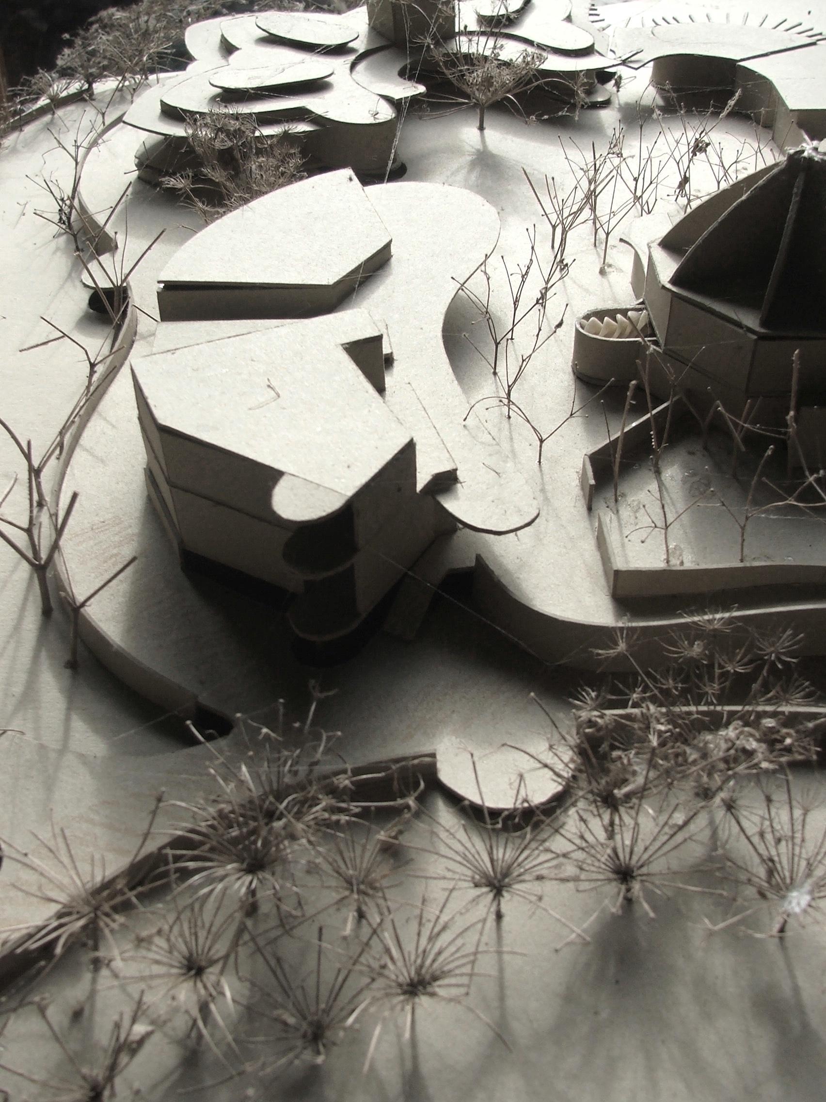 architectural model, de bortoli winery masterplan