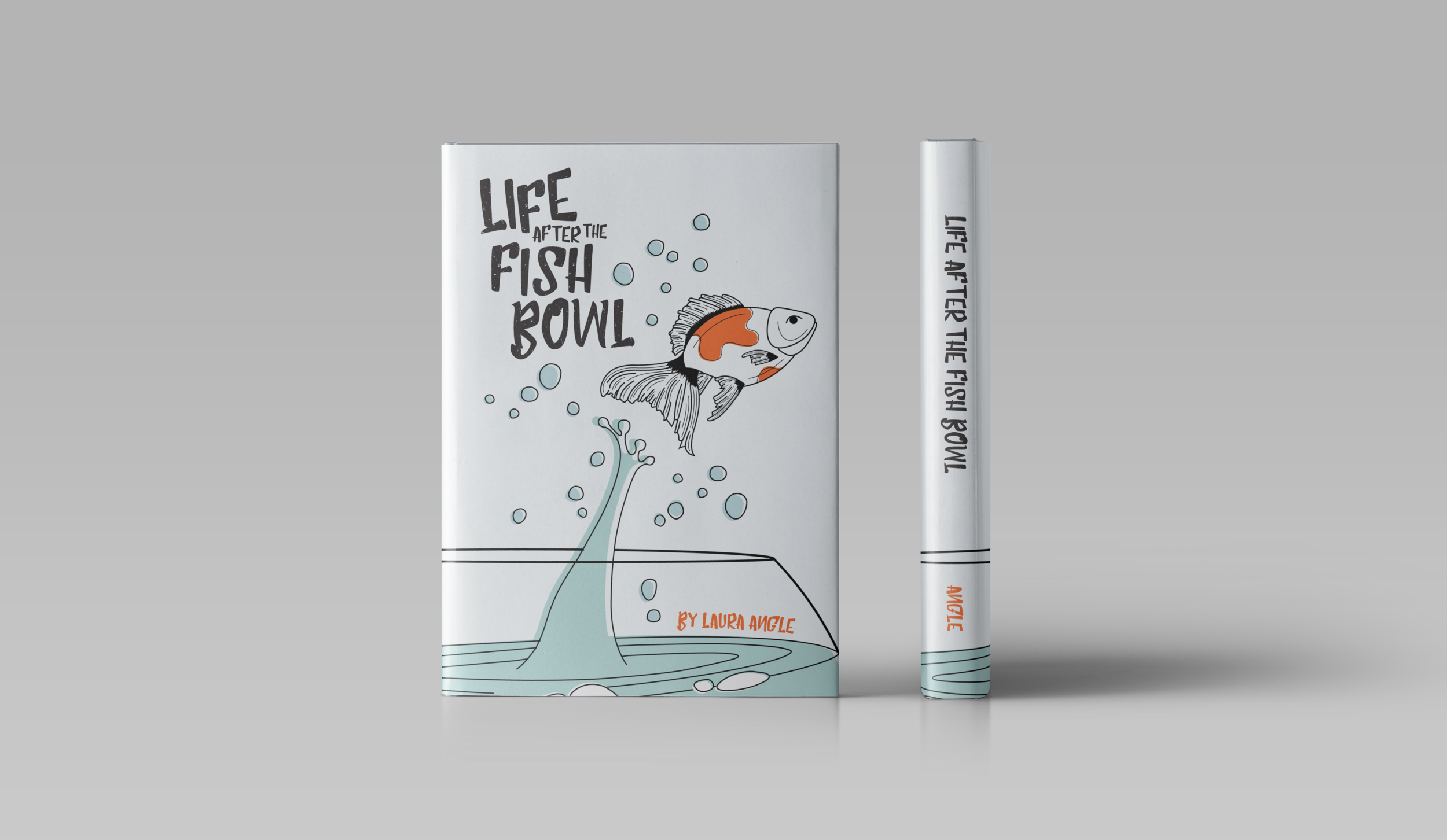 Life after the fish bowl  | Fall 2018 | Role: design, illustration