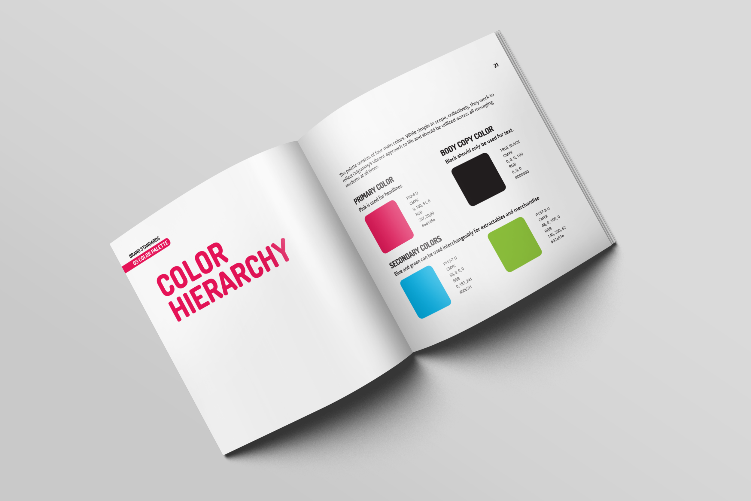 Color Hierarchy  | Fall 2018 | Role: design, writing
