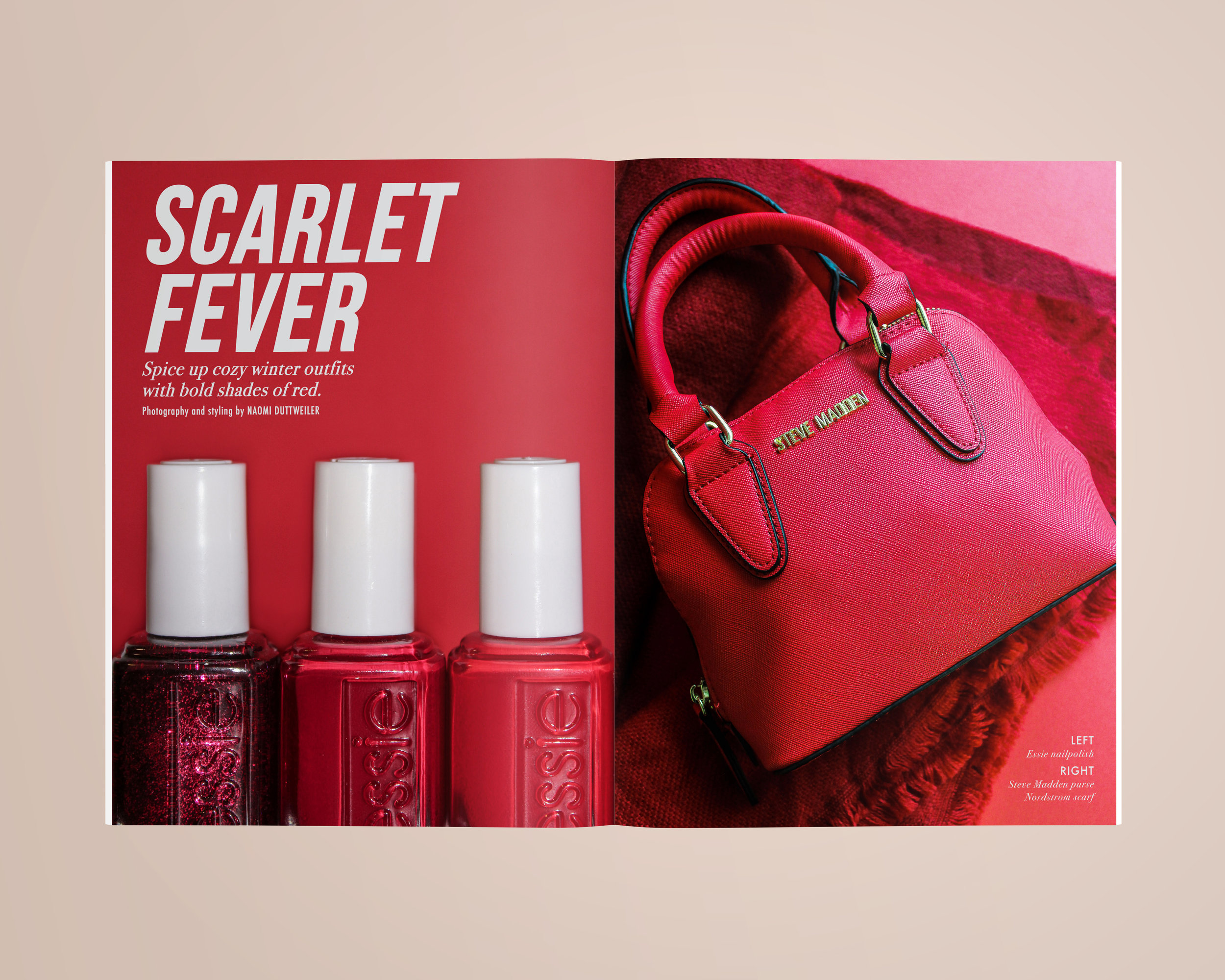 Scarlet Fever  | Fall 2017 | Role: design, photo selection