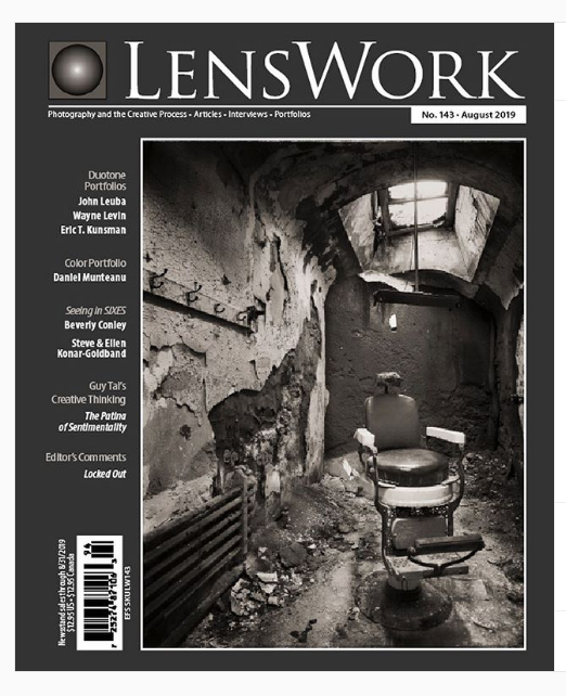 Eric Kunsman featured on the cover of LensWork Magazine
