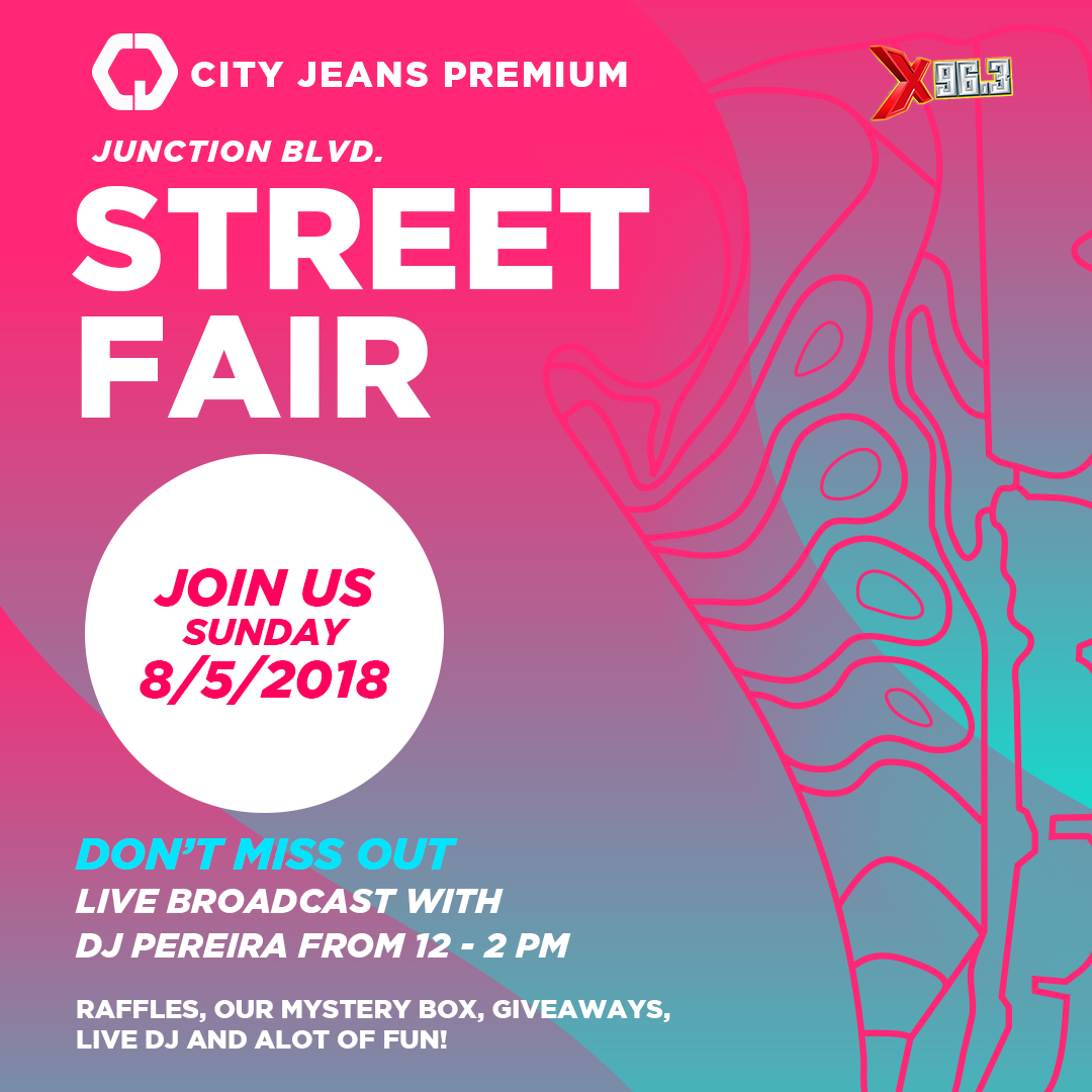Instagram / poster design for a local street fair.