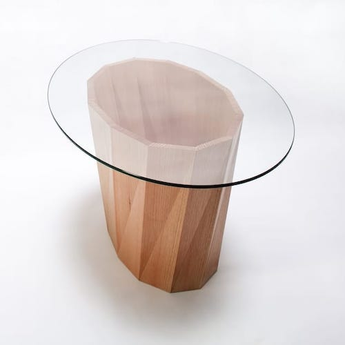 Swirl - A dynamic coffee table developed while a Studio Fellow in Maine, USA.