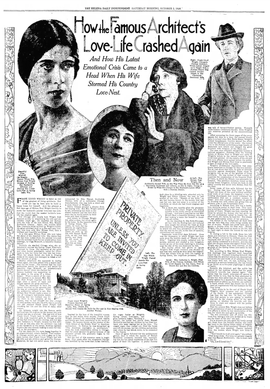 Helena Daily Independent , October 2, 1926.  [Public domain.]