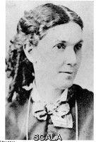 Frank Lloyd Wright's mother, Anna Lloyd Jones Wright. Mid-1870s.  [The Frank Lloyd Wright Fdn, AZ / Art Resource, NY/Scala, Florence]