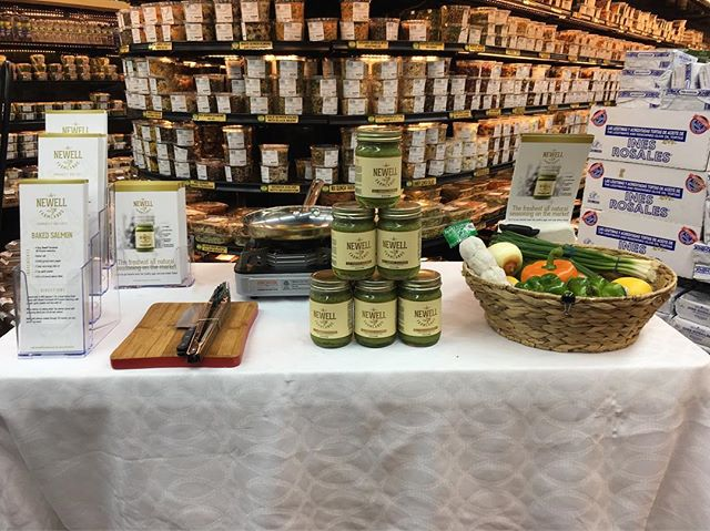 Brooklyn Market (Dobbs Ferry), KeyFood (Southern Blvd), Foodtown (Harlem).... Thank you for welcoming us today... #newellfarmlands #natural #fresh #organic #seasoning #healthyeating #flavor  #wholefoods #sodiumfree #glutenfree  #naturaleating #fancyfoods #craftfoods #wetrub #healthyliving #fitness #cleaneating #gym #wellness #family  #food #meals