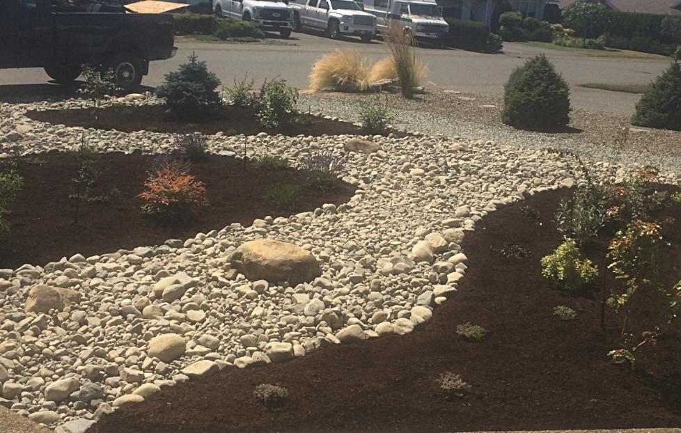 north nanaimo mulch and rock - irrigation 2018