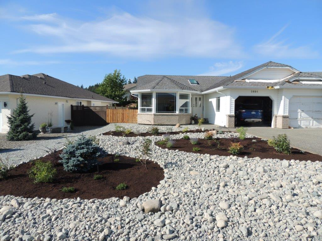 rock gardens and irrigation - landscaping nanaimo