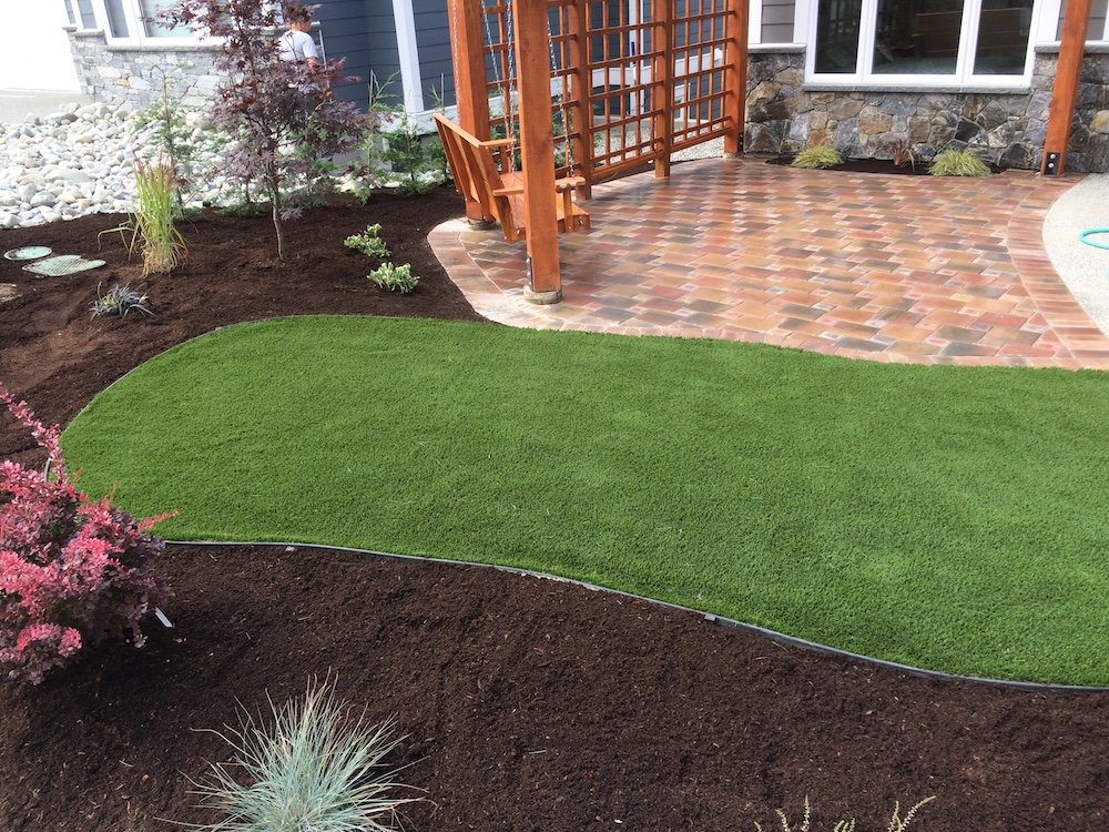 irrigation, pavers and artificial turf - landscaping nanaimo
