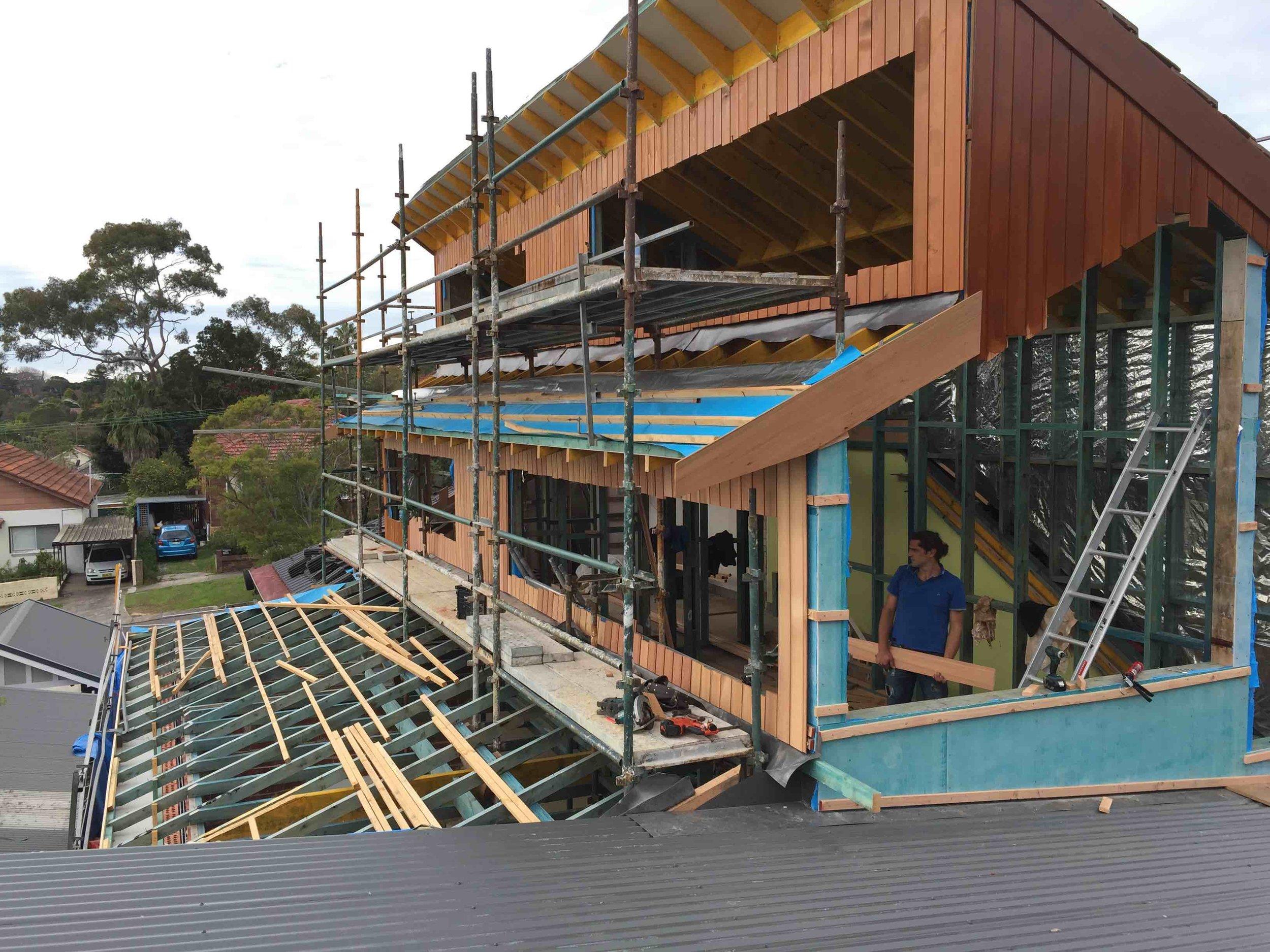 Cedar Cladding Progress shot.jpg