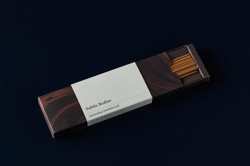 sandalwood incense subtle bodies