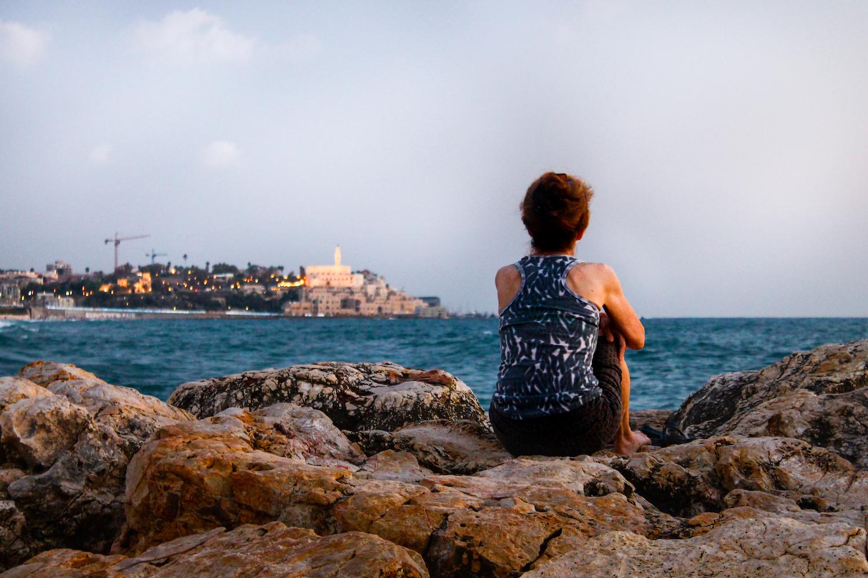 2014_Israel_Tel Aviv_Woman and the Sea.jpg