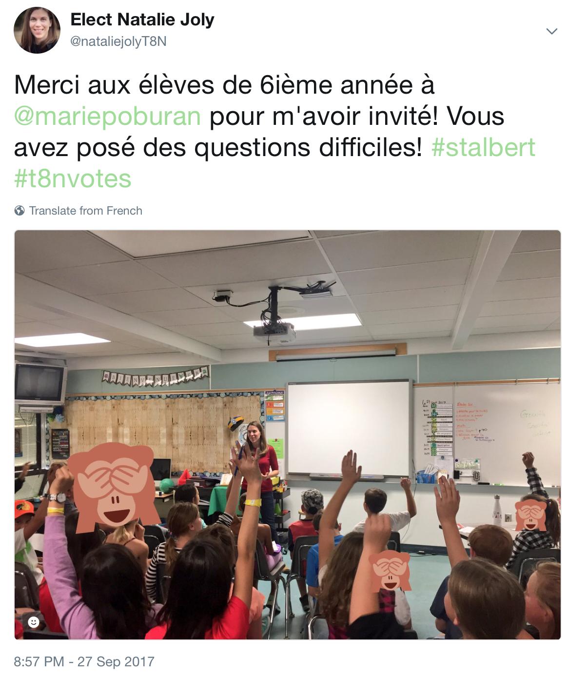 Ecole Marie Poburan St Albert