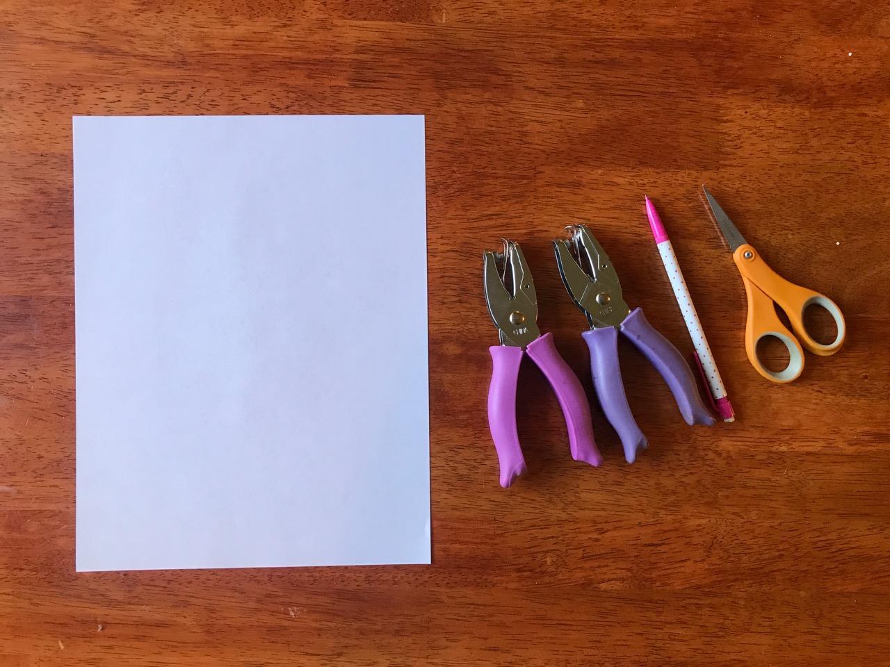 paper snowflake supplies