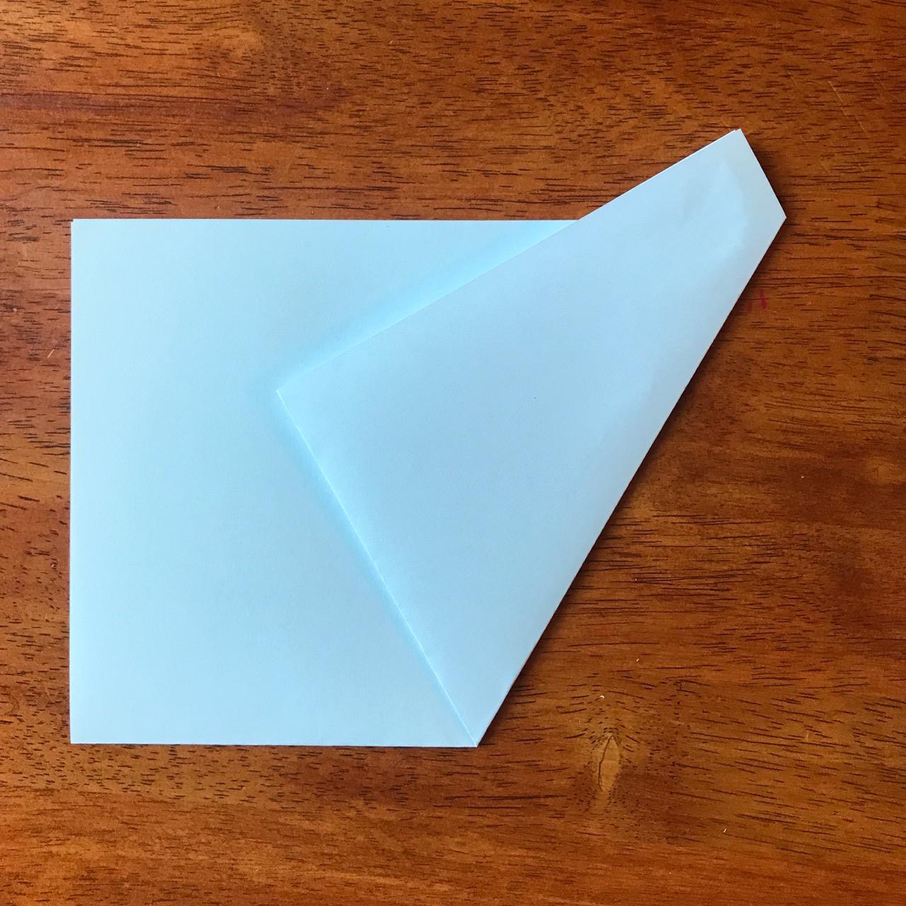 Fold first angle