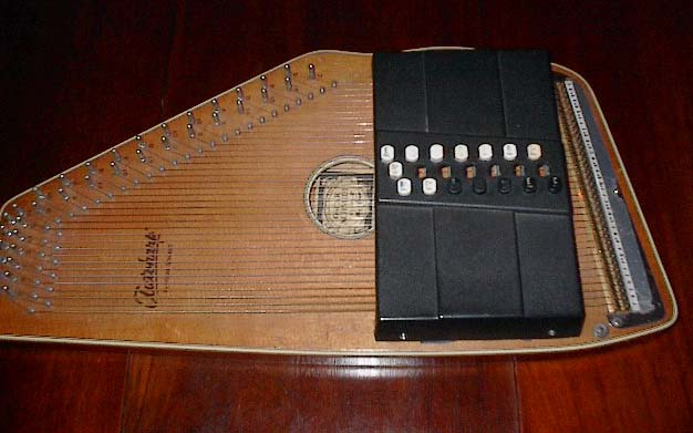 Will Smith autoharp Centurion - early conversion