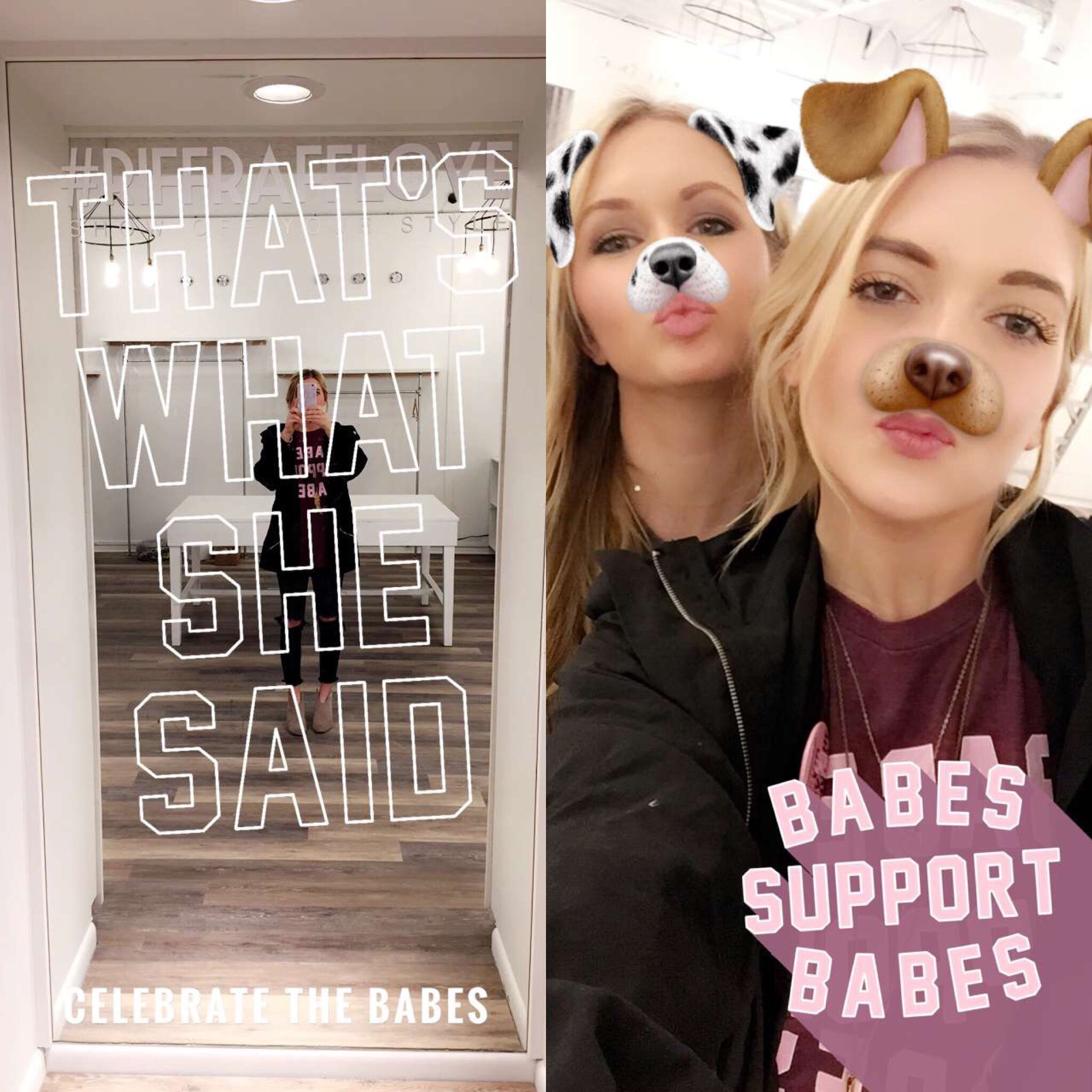 Love how these two geofilters for snapchat turned out for the day of the launch! For more info on custom geofilters,  click here  for inquiries and/or pricing!