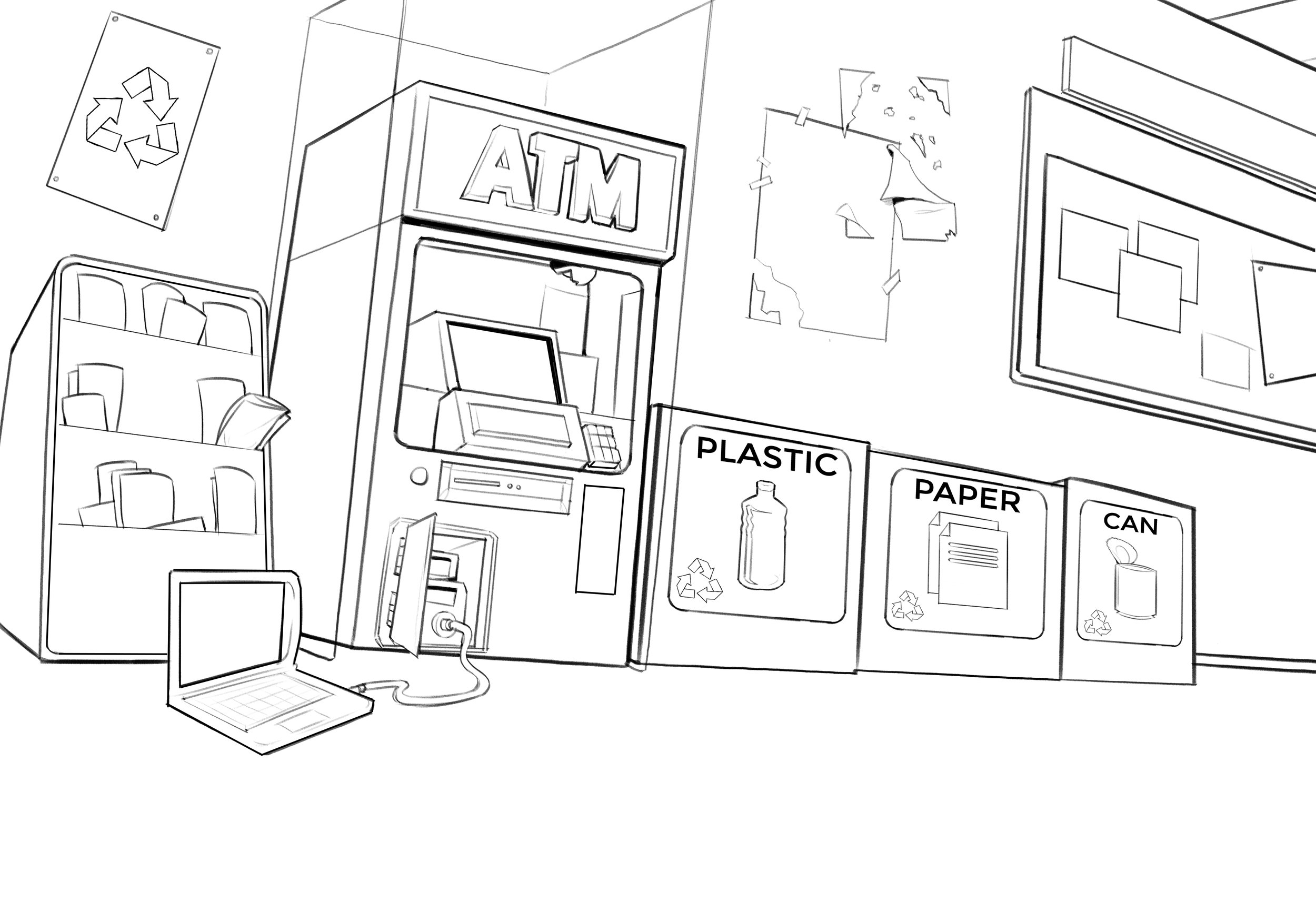 Layout of ATM Space.png