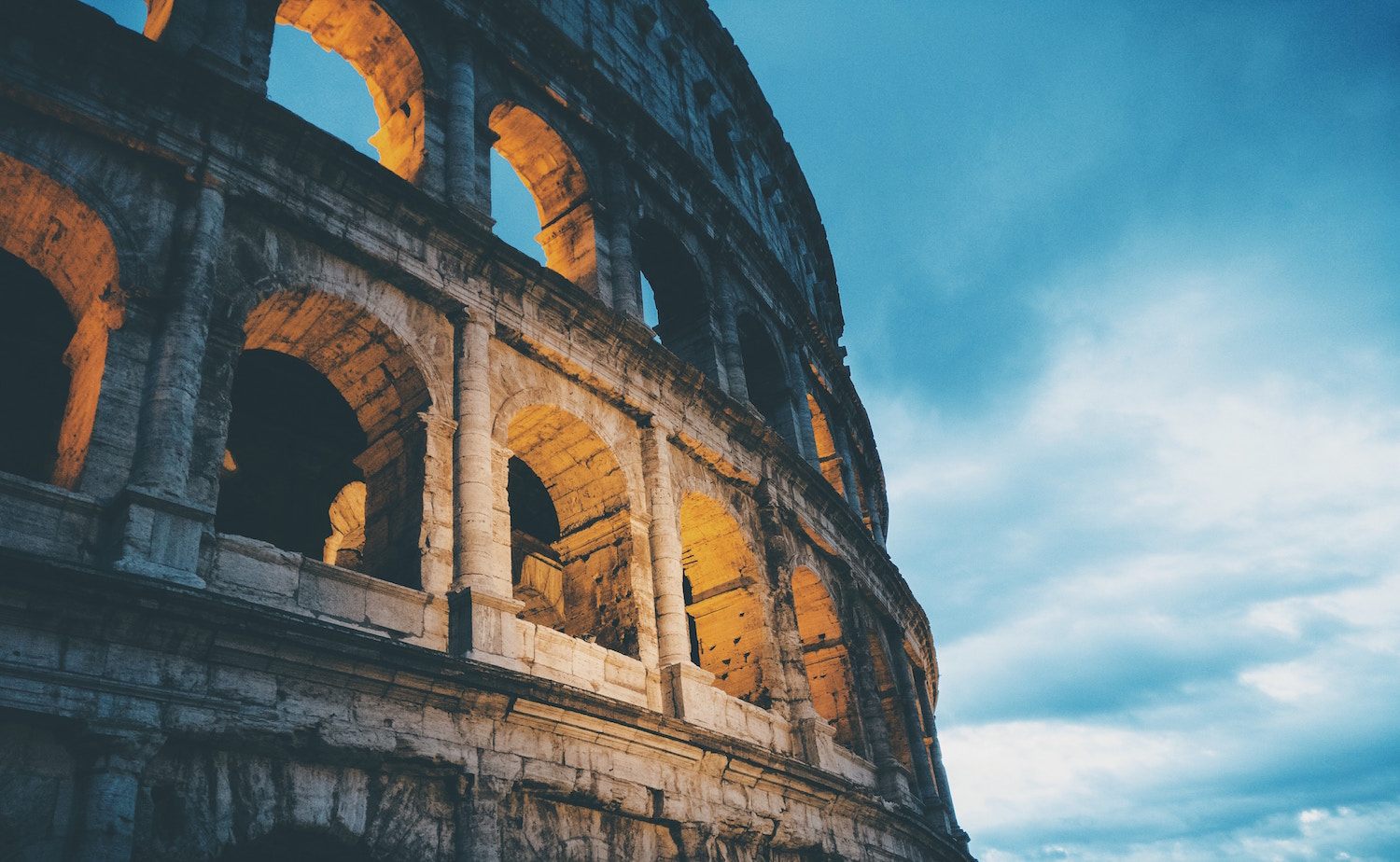 The Roman Republic lasted for hundreds of years before strong men turned it into an empire.