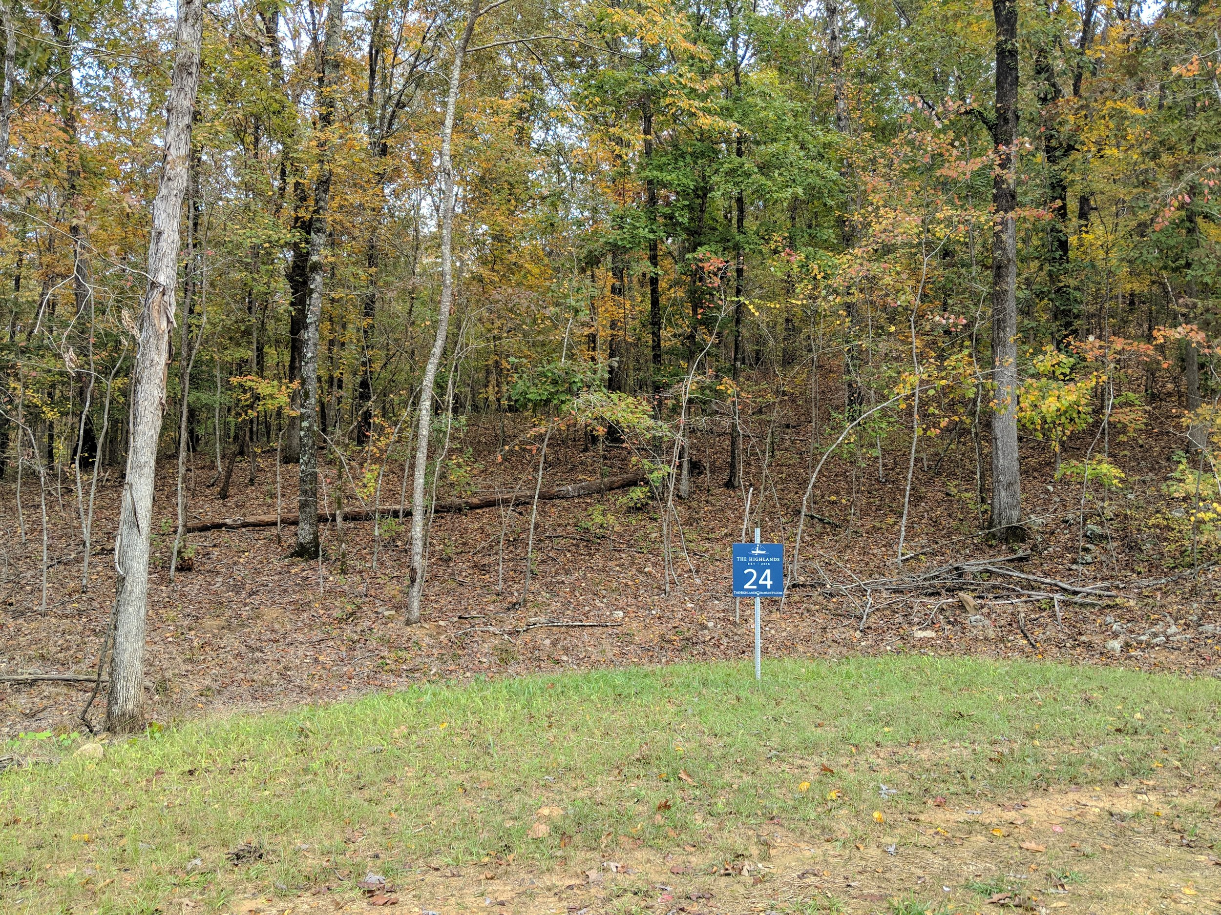Homesite #24   List Price: $105,000  Size: 1.06 acres  Section: Chelsea  Street: Timberview Trail