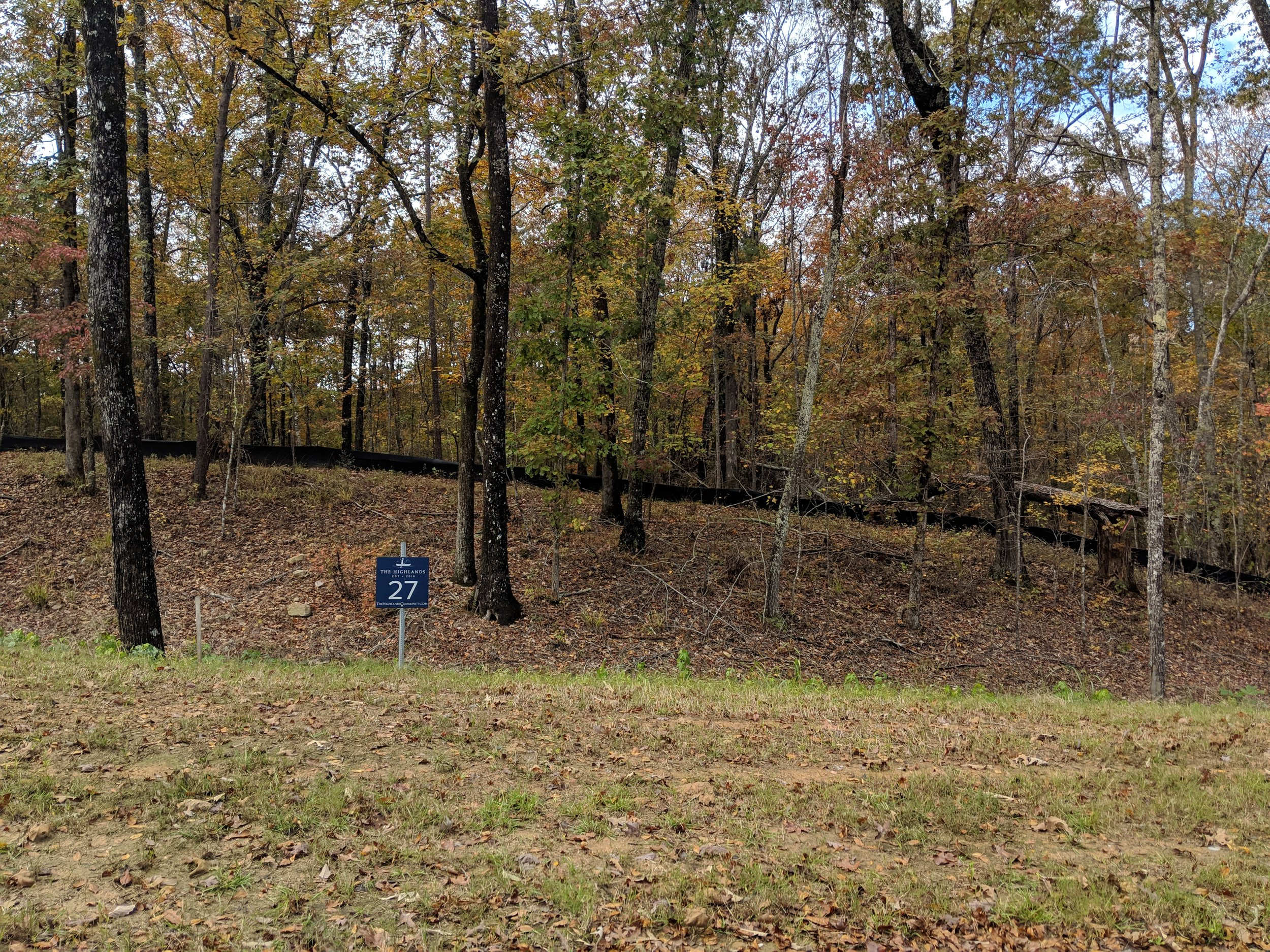 Homesite #27   List Price: $105,000  Size: 1.17 acres  Section: Chelsea  Street: Timberview Trail