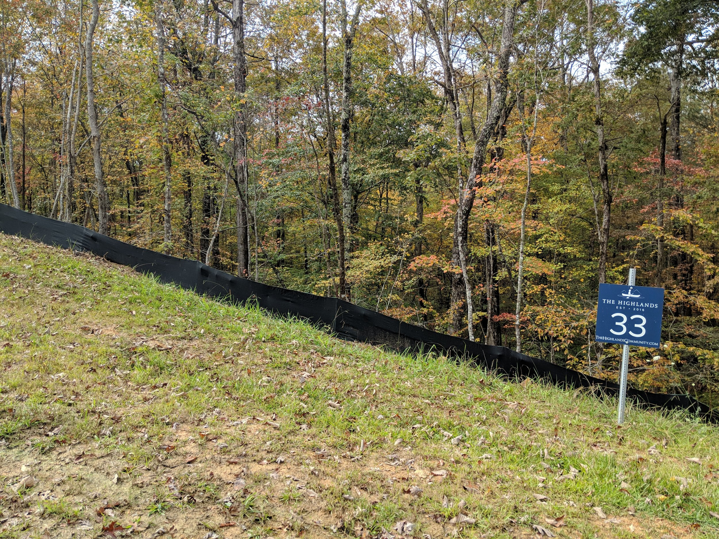 Homesite #33   List Price: $105,000  Size: 1.09 acres  Section: Chelsea  Street: Timberview Trail