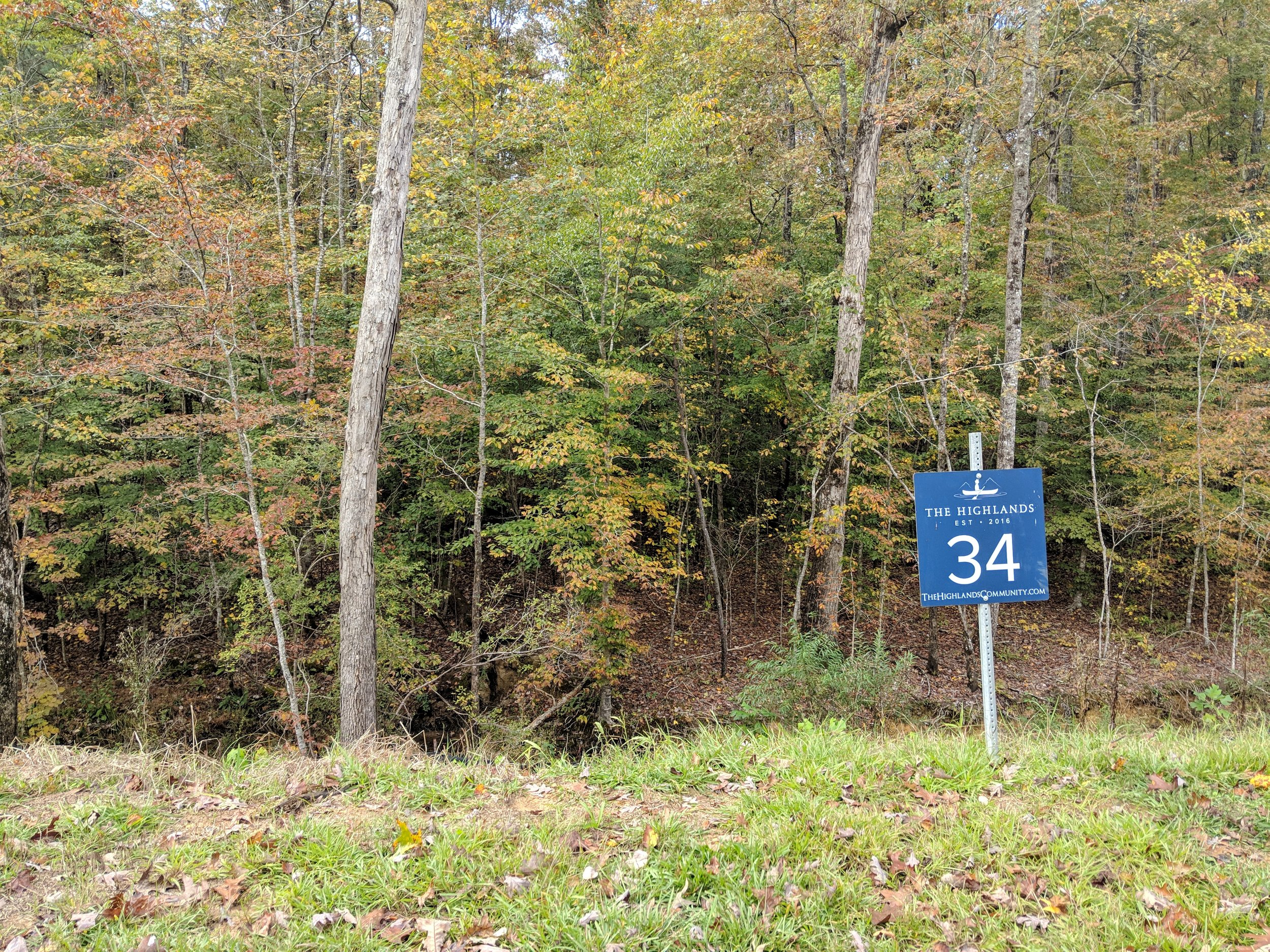 Homesite #34   List Price: $105,000  Size: 1.02 acres  Section: Chelsea  Street: Timberview Trail